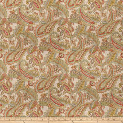 Fabricut All In Paisley Linen Blend Multi Fabric
