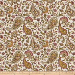 Fabricut Almost Alright Linen Blend Mulberry Fabric