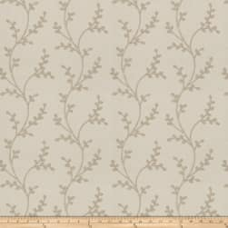 Fabricut Amaroo Embroidered Sand Fabric