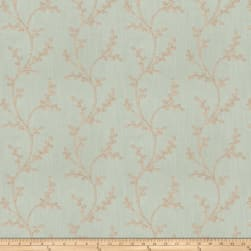 Fabricut Amaroo Embroidered Stream Fabric