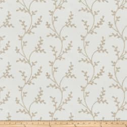 Fabricut Amaroo Embroidered Birch Fabric