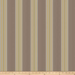Fabricut Babka Stripe Faux Silk Citrus Fabric