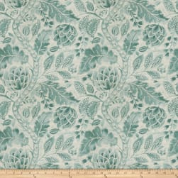 Fabricut Beauvoir Linen Lagoon Fabric