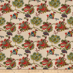 Fabricut Belgrave Basketweave Fruit Punch Fabric