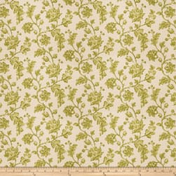 Fabricut Bello Floral Linen Blend Lime Fabric