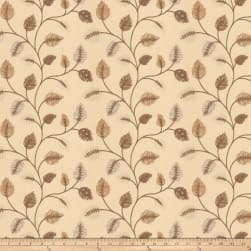 Fabricut Betting Leaves Mocha Fabric