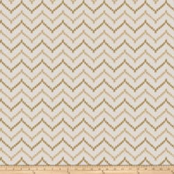 Fabricut Boga Metallic Gold Fabric