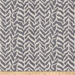 Fabricut Breaking The Bank Jacquard Navy Fabric
