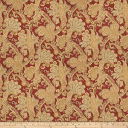 Fabricut Bronstein Twill Persimmon Fabric