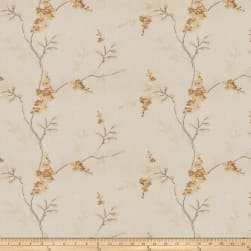 Fabricut Brookdale Linen Blend Butterscotch Twill Fabric