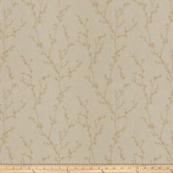 Fabricut Budding Field Linen Blend Papyrus Fabric