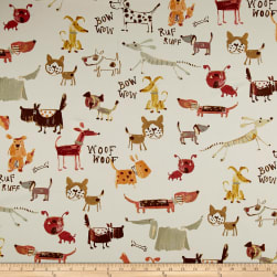 Covington Bow Wow Twill Vintage Fabric