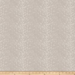 Fabricut Castling Embroidered Ash Canvas Fabric
