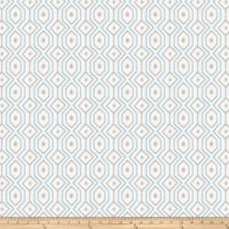 Fabricut Catty Corner Shantung Aquamarine Fabric