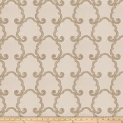 Fabricut Caviezel Cloud Silk Fawn Fabric
