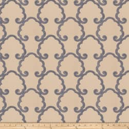 Fabricut Caviezel Cloud Silk Horizon Fabric