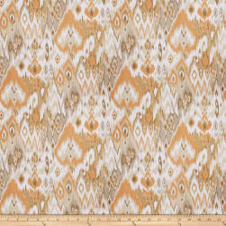 Fabricut Cells Ikat Coral Reef Fabric