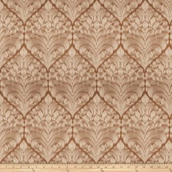 Fabricut Chandelier Jacquard Copper Fabric