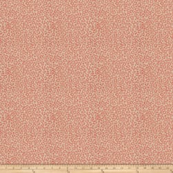 Fabricut Cheetah Jacquard Papaya Fabric