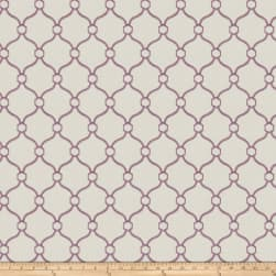 Fabricut Churchill Lilac Canvas Fabric
