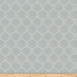 Fabricut Churchill Mist Canvas Fabric