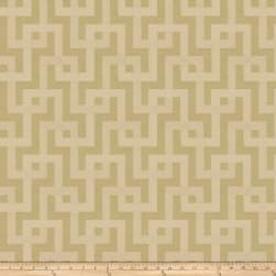 Fabricut Clarity Interlock Jacquard Pistachio Fabric