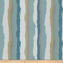 Kendall Wilkinson Bella Dura Color Wash Indoor/Outdoor Jacquard Tropical Sky