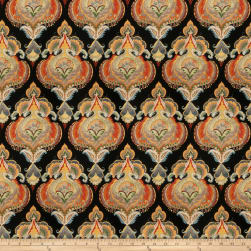 Fabricut Conductor Black Tie Fabric