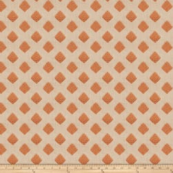 Fabricut Cool Arrow Linen Pumpkin Fabric