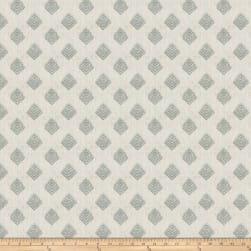 Fabricut Cool Arrow Linen Aqua Fabric