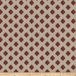 Fabricut Cool Arrow Linen Plum Fabric