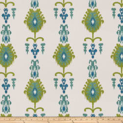 Fabricut Counterattack Embroidered Caribbean Fabric