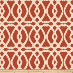 Mount Vernon Creamware Cinnamon Boucle Fabric