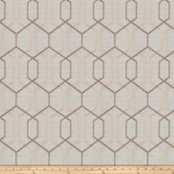 Fabricut Crosswise Embroidered Opal Fabric