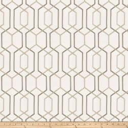 Fabricut Crosswise Embroidered Birch Fabric