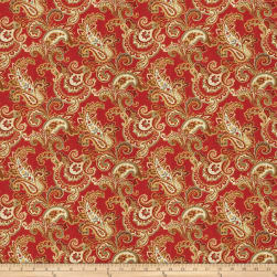 Fabricut Dandy Vermillion Fabric