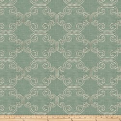 Fabricut Deco Lights Chenille Aqua Fabric