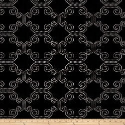 Fabricut Deco Lights Chenille Ebony Fabric