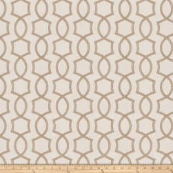 Fabricut Docile Lattice Linen Fabric