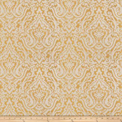 Fabricut Doctrine Jacquard Gold Fabric