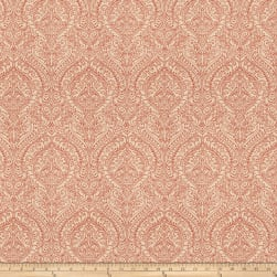 Fabricut Donatella Basketweave Spiced Coral Fabric