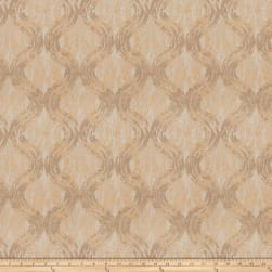 Fabricut Double Cross Jacquard Gold Fabric