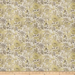 Fabricut Dugout Floral Gold Dust Fabric