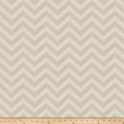 Fabricut Durum Chevron Faux Silk Beige Fabric