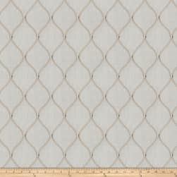 Fabricut Engine Ogee Linen Blend Teastain