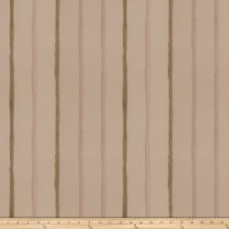 Fabricut Epicurean Stripe Faux Silk Rosewood Fabric