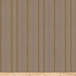 Fabricut Epicurean Stripe Faux Silk Plum Fabric