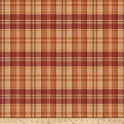 Fabricut Esquire Plaid Wool Auburn Fabric