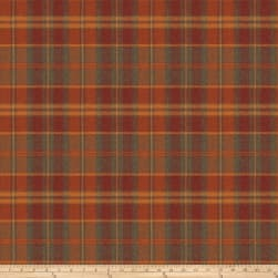 Fabricut Esquire Plaid Wool Spice Fabric
