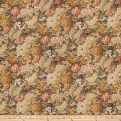 Fabricut Eudes Floral Clay Fabric